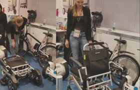 Airwheel H3S foldable electric wheelchair