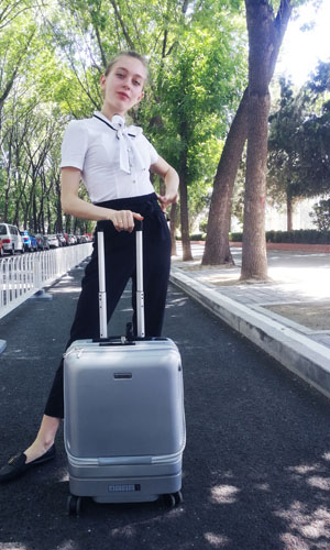 Airwheel SE3Mini scooter suitcase